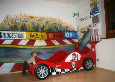 Formule malba dětský pokoj