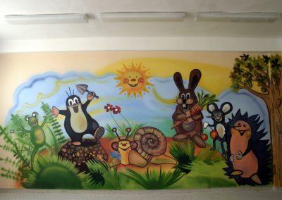 Malba domov pro maminky s dětmi