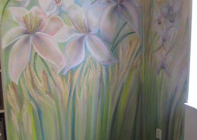 Reliéfní malba do obchodních prostor