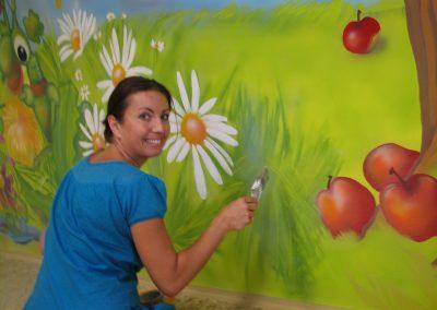 Malby na stěny pro děti