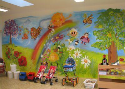Dekorační malby stěn pro děti