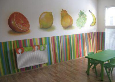 Jídelna dekorace